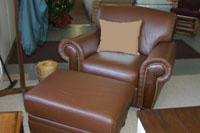 NC Furniture Leather Sofas, Loveseats, Chairs and Ottomans